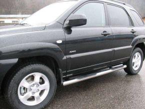 Telai laterali in acciaio inox per Hyundai Tucson 2004-2009