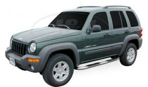 Telai laterali in acciaio inox per Jeep Cherokee 2001-2006