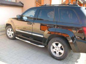 Telai laterali in acciaio inox per Jeep Grand Cherokee 2005-2010