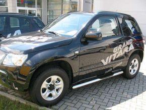 Telai laterali in acciaio inox per Suzuki Grand Vitara 3D, ANNI -2005