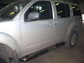 Telai laterali in acciaio inox per Nissan Pathfinder 2005-2012