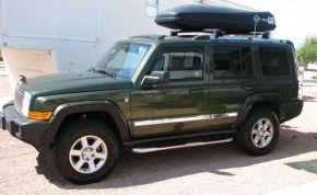 Telai laterali in acciaio inox per Jeep Commander, ANNI 2006-2010