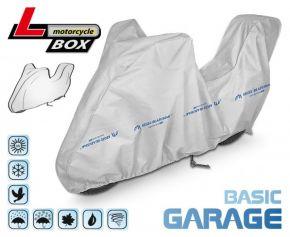 Copertura per moto BASIC GARAGE 215-240 cm + bagagliaio