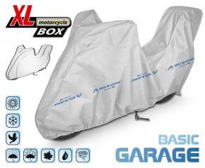 Copertura per moto BASIC GARAGE 240-265 cm + bagagliaio