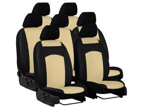 Copri sedili su misura In pelle CITROEN C4 Grand Picasso (2007-2013)