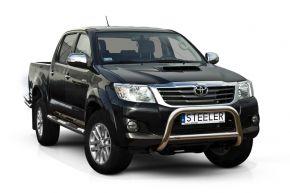 Rollbar Frontali Steeler per Toyota Hilux 2005-2011-2015 Modello A