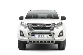 Rollbar Frontali Steeler per ISUZU D-MAX 2012-2017- Modello G