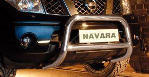 Rollbar Frontali Steeler per Nissan Navara 2005-2010 Modello A
