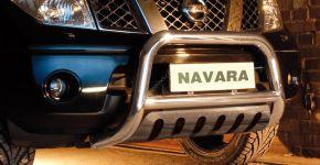 Rollbar Frontali Steeler per Nissan Navara 2005-2010 Modello S