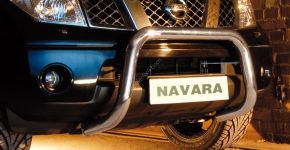 Rollbar Frontali Steeler per Nissan Navara 2010-2015 Modello U