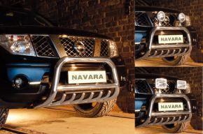 Rollbar Frontali Steeler per Nissan Navara 2010-2015 Modello G