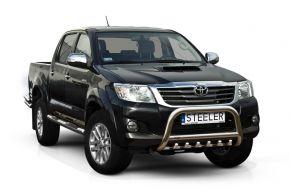 Rollbar Frontali Steeler per Toyota Hilux 2005-2011-2015 Modello G
