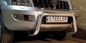 Rollbar Frontali Steeler per Toyota Land Cruiser 120 2003-2009 Modello U