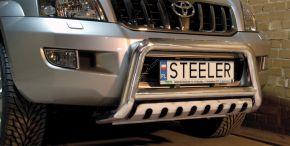 Rollbar Frontali Steeler per Toyota Land Cruiser 120 2003-2009 Modello S