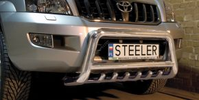 Rollbar Frontali Steeler per Toyota Land Cruiser 120 2003-2009 Modello G