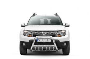 Rollbar Frontali Steeler per Dacia Duster 2010-2014-2018 Modello G