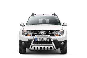 Rollbar Frontali Steeler per Dacia Duster 2010-2014-2018 Modello S