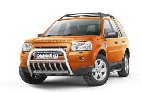 Rollbar Frontali Steeler per LAND ROVER FREELANDER II 2007-2014 Modello G