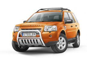 Rollbar Frontali Steeler per LAND ROVER FREELANDER II 2007-2014 Modello S