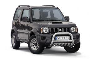 Rollbar Frontali Steeler per SUZUKI JIMNY 2012-2018 Modello S