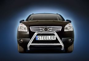 Rollbar Frontali Steeler per Nissan Qashqai 2007-2010 Modello A