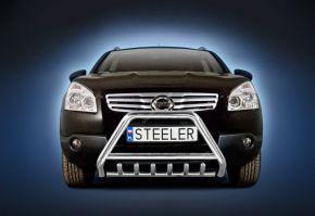 Rollbar Frontali Steeler per Nissan Qashqai 2007-2010 Modello G