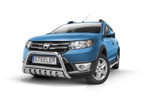 Rollbar Frontali Steeler per DACIA SANDERO STEPWAY 2012-2016 Modello S