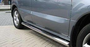 Telai laterali in acciaio inox per Kia Sportage, ANNI 2004-2009