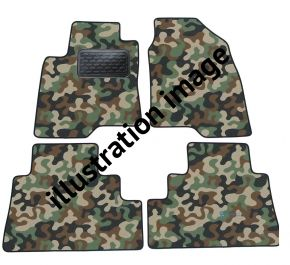 Army car mats BMW E65 7 Series 2002-up 4ks