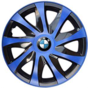 "Copricerchi per BMW 14"", DRACO BLU 4 pz"