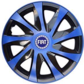 """Copricerchi per FIAT BLUE 15"""", DRACO BLU 4 pz"""