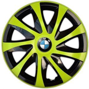 "Copricerchi per BMW 14"", DRACO VERDE 4 pz"