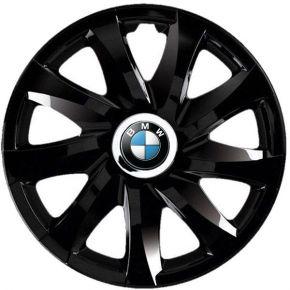 """Copricerchi per BMW 16"""", DRIFT NERO LACCATO 4 pz"""
