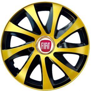 "Copricerchi per FIAT 15"", DRIFT EXTRA oro 4pz"