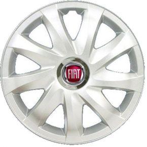 """Copricerchi per FIAT 14"""", DRIFT GRIGIO LACCATO 4 pz"""