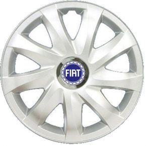 """Copricerchi per FIAT BLUE 15"""", DRIFT GRIGIO LACCATO 4 pz"""