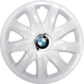 """Copricerchi per BMW 14"""", DRIFT BIANCO LACCATO 4 pz"""