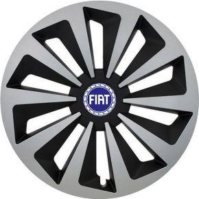 "Copricerchi per Fiat Blue 14"", Fox, 4 pz"