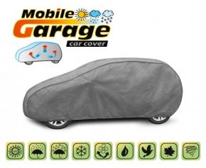 Copertura per auto MOBILE GARAGE hatchback Chevrolet Aveo hatchback do 2010 (T200) 380-405 cm