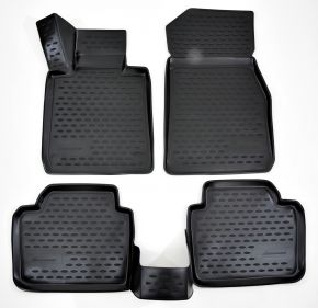 Tappeti in gomma BMW 3-serie F30  2012-up 4 pz