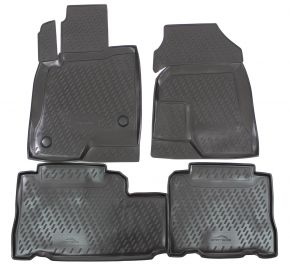 Tappeti in gomma CHEVROLET Captiva 06/2007 4 pz
