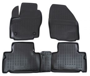Tappeti in gomma FORD FORD S-MAX 2006-up 4 pz