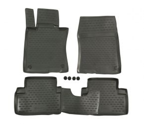 Tappeti in gomma HONDA ACCORD 2008-2013, 4 pz
