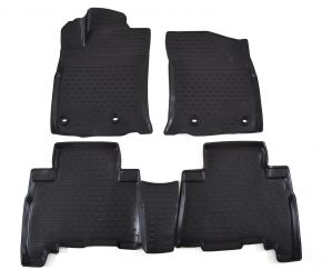 Tappeti in gomma TOYOTA 4RUNNER 2009-up, 4 pz