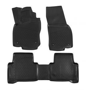 Tappeti in gomma VOLKSWAGEN TOURAN 2015-up, 4 pz