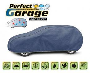 Copertura protettivo membrana morbida in tela per qualsiasi auto PERFECT GARAGE hatchback/kombi Mazda 3 hatchback 430-455 cm