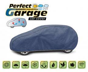 Copertura protettivo membrana morbida in tela per qualsiasi auto PERFECT GARAGE hatchback Daewoo Kalos 380-405 cm