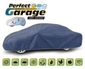 Copertura protettivo membrana morbida in tela per qualsiasi auto PERFECT GARAGE sedan Gaz 24 Wołga 500-535 cm