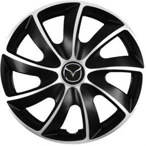 "Copricerchi per Mazda 13"", Quad bicolor, 4 pz"