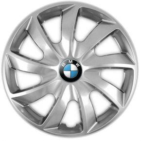 """Copricerchi per BMW 14"""", QUAD GRIGIO 4 pz"""